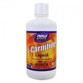 NOW Foods - L-Carnitina Liquid Citrus Flavor 1000 mg. - 32 oz.
