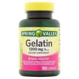 Spring Valley El colágeno ayuda * Gelatina 10 Grano 100 ct