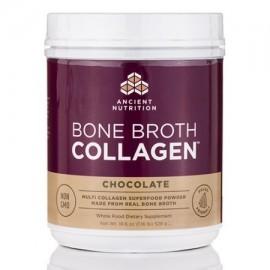 El colágeno óseo Caldo de chocolate - 186 oz (528 gramos) por Ancient Nutrition