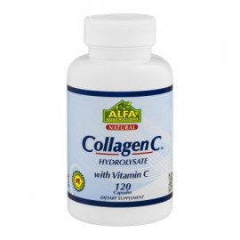 El colágeno hidrolizado Alfa Vitamins C con vitamina C Cápsulas - 120 CT