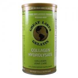 GREAT LAKES GEL mérica Colágeno Hidrolizado (carne Kosher) de 16 onzas