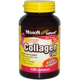 Mason Natural Caps 1500 mg de colágeno con vitamina C 120 cápsulas (Pack de 2)