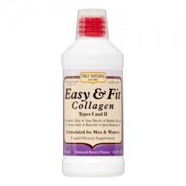 ONLY NATURAL Fácil y colágeno apto para hombres y mujeres Berry Natural 16 oz