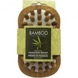 Swissco Colección de bambú de las celulitis cepillo