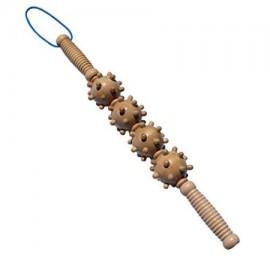 MEGA masaje muscular Rodillo Stick celulitis Blaster de tejido profundo y la fascia con puntos gatillo miofasciales Mejor Bolas