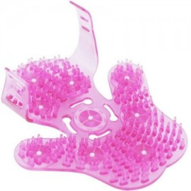 Beautyko celulitis guante del masaje Rosa