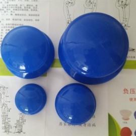 4pcs humedad ahuecando el absorbedor Anti Celulitis ventosa de vacío de silicona facial familia Cuerpo terapia de masaje