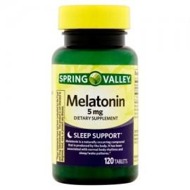 Spring Valley 5 mg Melatonina 120 ct