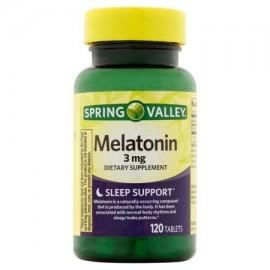 Spring Valley Melatonina 3 mg 120 ct