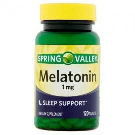 Spring Valley Melatonina 1 mg suplemento dietético 120 ct