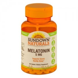 Sundown Naturals Melatonina 5 mg comprimidos - 90 CT