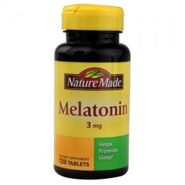 Nature Made 3 mg de melatonina - 120 CT