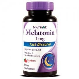 Natrol Melatonina 1mg rápido comprimidos que se disuelven 90 Ct