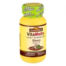 Nature Made Rápido Disolver la menta del chocolate del sueño melatonina - 100 CT