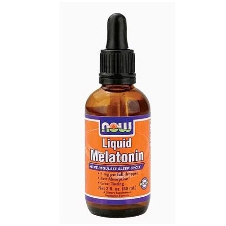 NOW- Liquid melatonina 60 ml