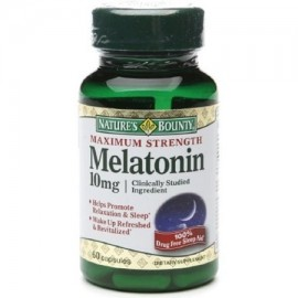 Nature's Bounty Melatonina 10 mg Cápsulas 60 ea (Pack de 4)