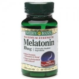 Nature's Bounty Melatonina 10 mg Cápsulas 60 ea (Pack de 4)