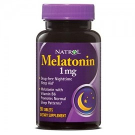 Natrol Melatonina 1mg Tablets 90 Ct
