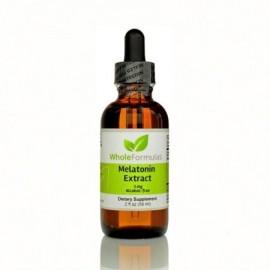 Whole Formulas Extracto de melatonina 2 fl oz