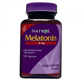 Natrol Melatonina 3 mg - 120 Tabletas