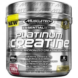 MuscleTech esencial de serie Platinum 100% suplemento dietético creatina en polvo 088 lb