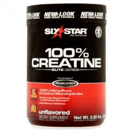 six star pro nutrition Elite Series sin sabor 100% de creatina en polvo 088 lb