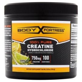 Body Fortress ® 100% pura creatina HCL lima limón 100 gramos