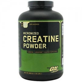 OPTIMUM NUTRITION creatina micronizada en polvo sin sabor 600 GM
