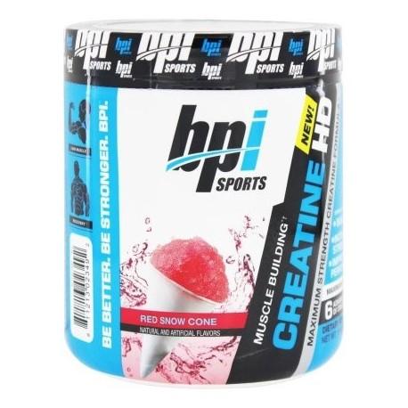 BPI Sports - La creatina HD edificio del músculo rojo Cono de Nieve - 1058 oz