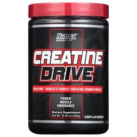 Nutrex Investigación Drive creatina Creapure sin sabor en polvo de los Suplementos Dietéticos 1058 oz
