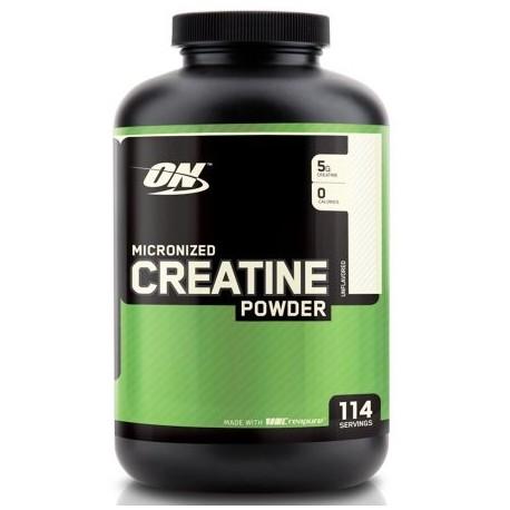 OPTIMUM NUTRITION - creatina micronizada Creapure polvo sin sabor - 600 gramos