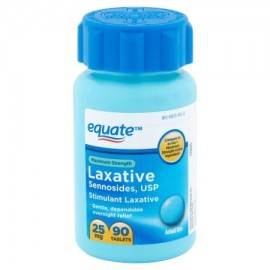 equate Maximum Strength píldoras laxantes 25 mg 90 conteo