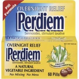Perdiem estimulantes Relief noche a la mañana píldoras laxantes 60 unidades