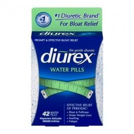 DIUREX píldoras de agua para el alivio Inflar - 42 CT