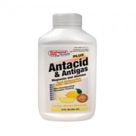 kpp Antiácido Y Antigas Plus suspensión oral Limón - 12 Oz