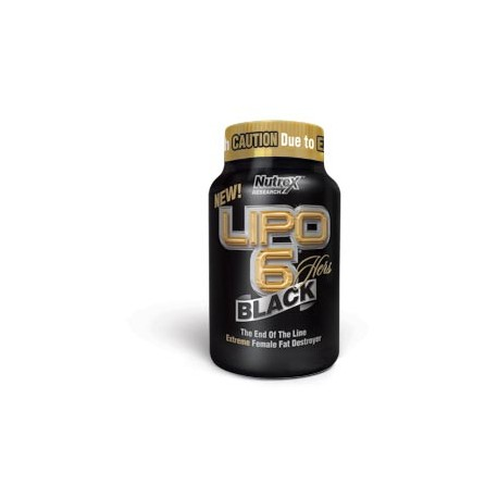 Lipo 6 Black hers 120 capsulas de Nutrex