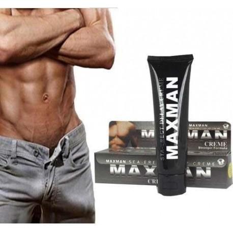 MAXMAN - CREMA PARA AGRANDAR EL PENE Y RETARDAR LA EYACULACION (50ML)