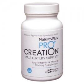 Pro Creación fertilidad masculina de apoyo Nature's Plus 60 Caps