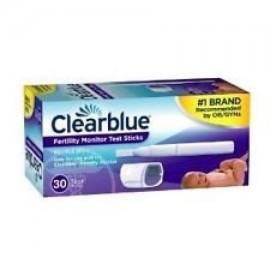 Clearblue Fácil monitor de fertilidad Sticks 30 de prueba