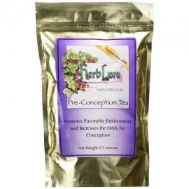 Herb Lore orgánico antes de la concepción de la fertilidad del té para las mujeres de las hojas intercambiables 2.5 onzas