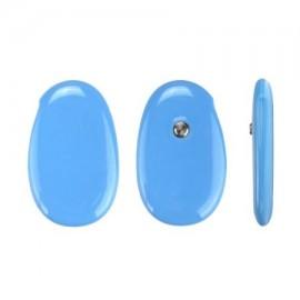 Sensor de Temperatura azul NUEVO MINI dulce inteligente Fiebre Alerta Termómetro inalámbrico Bluetooth APP Macaron color para