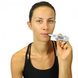Termómetro Oral - Mejor axilas rectal y axilar Fiebre Termómetro Médico - Precisa impermeable fácil de leer pantalla - Fiebr