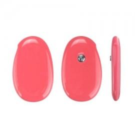Macaron portátil de color lindo del bebé del diseño inteligente Alerta Fiebre Termómetro APP Bluetooth inalámbrico (de colo