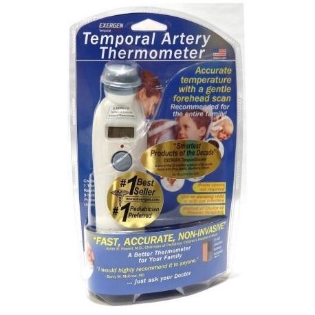 Exergen Temporal de exploración de la frente de la arteria termómetro para bebés Tat-2000c escáner