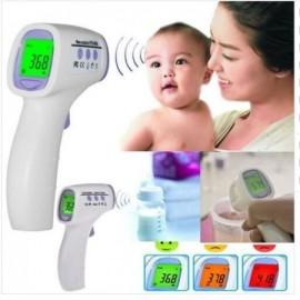 Digital Termómetro para bebés Infrarrojo termógrafo frente Alarma Fiebre con color de retroiluminación de LCD