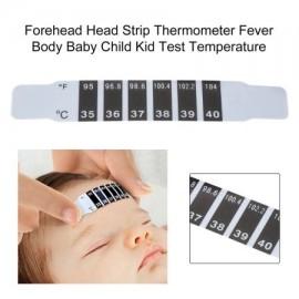 Prueba Cuidado del monitor de alta calidad de la frente de la cabeza de Gaza termómetro de la fiebre del cuerpo del bebé del c