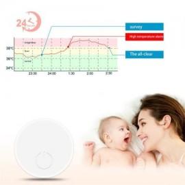 3 en 1 Bluetooth usable Termómetro para los niños del bebé termómetro electrónico