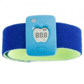 Control remoto inteligente usable Zimtown Termómetro bebé Kid Bluetooth Monitor Safty Teléfono