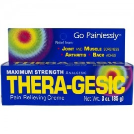 Thera-Gesic Crema para aliviar el dolor 3.0 OZ