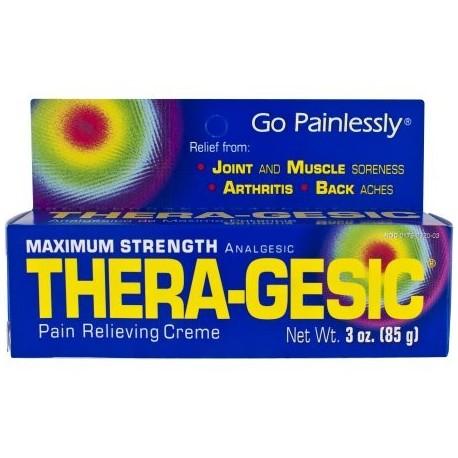 Thera-Gesic Crema para aliviar el dolor 3.0 OZ